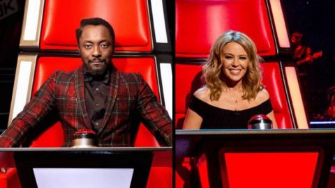 Kylie Minogue e will.i.am ci prendono gusto: faranno anche The Voice Australia