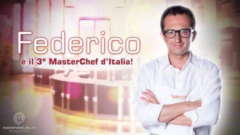 FEDERICO VINCE MASTERCHEF 3 NEL DISASTRO DELLA DIRETTA