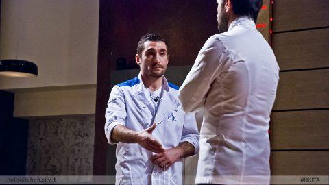 Tra mille cambiamenti di squadra solo Gianluca lascia Hell's Kitchen