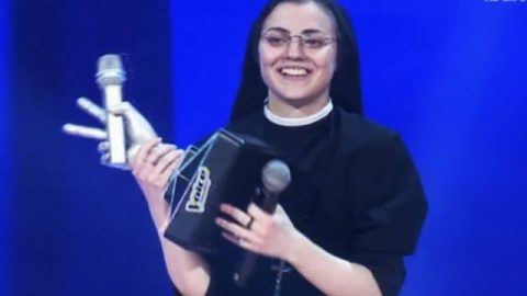 SUOR CRISTINA SCUCCIA E' THE VOICE OF ITALY!